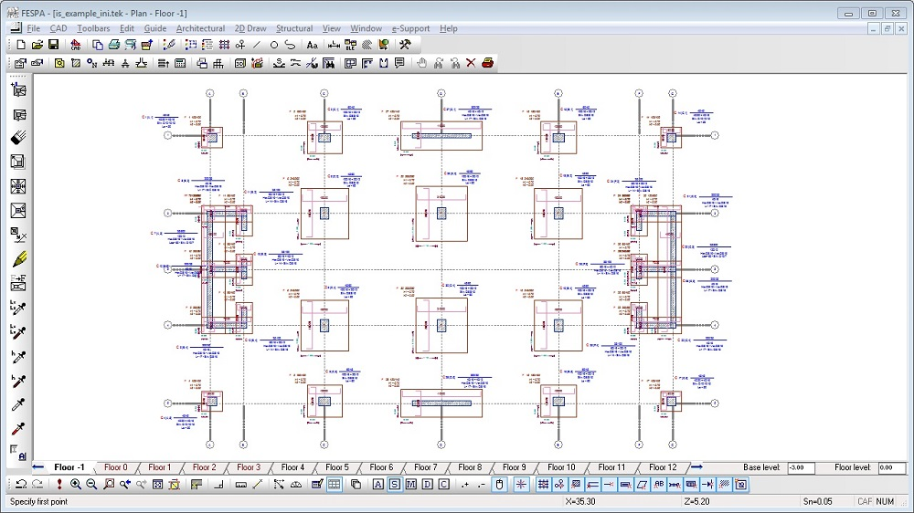 Structural Analysis software   Fespa IS - LH Logismiki