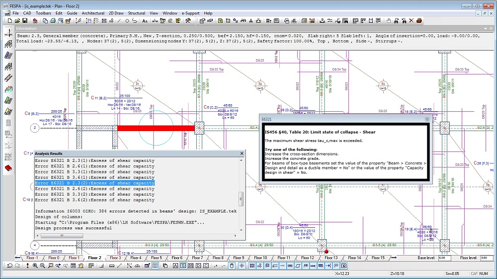 Analysis amp Design Software Civil Structural Engineer - oukas.info