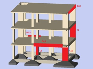 Post-earthquake structural repair methods of reinforced concrete buildings