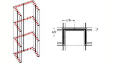 Ισοδύναμο πλαισιακό προσομοίωμα πυρήνα ανελκυστήρα | Fespa tutorials