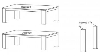 Περιγραφή ορόφου 0 και εισαγωγή υποστυλωμάτων, των οποίων ο κάτω κόμβος κείται στην στάθμη θεμελίων (Κ5, Κ6)