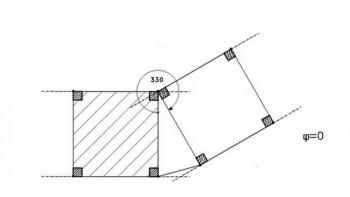 Εισάγετε το τμήμα του κτιρίου που είναι ορθά τοποθετημένο