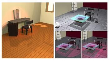 Αλλάζοντας το είδος των φωτεινών πηγών αλλάζει το virtual σκηνικό σας.