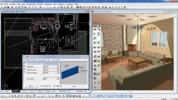 Γραμμικό σχέδιο και φωτορεαλιστική απεικόνιση ταυτόχρονα, σε κάθε φάση της μελέτης.