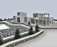 Συγκρότημα κατοικιών στη Μύκονο<br> AceDesign