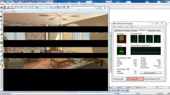 Φωτορεαλισμός με τον Τέκτονα με την έκδοση 5.6.0.6. Αυτόματη αναγνώριση και πλήρης εκμετάλευση των πυρήνων του επεξεργαστή σας για την δημιουργία φωτορεαλιστικών απεικονίσεων.