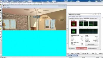 Φωτορεαλισμός με τον Τέκτονα πρίν την έκδοση 5.6.0.6. Εκμετάλευση του ενός μόνο πυρήνα του επεξεργαστή, μεγαλύτερη διάρκεια για την παραγωγή της φωτορεαλιστικής απεικόνισης.