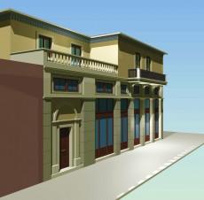 Αποκατάσταση διατηρητέου κτιρίου στη συνοικία «Μανάβικα», Τρίκαλα
