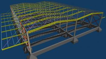 Fespa για μεταλλικές κατασκευές – 3D απεικόνιση.