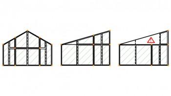 <b>Σχήμα 3:</b> Αυτόματος υπολογισμός του πλάτους επιρροής και της κλίσης της στέγης.