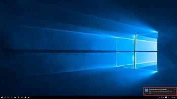 Κάντε κλίκ στο αναδυόμενο παράθυρο για να επιλέξετε τί θα κάνετε με το CD εγκατάστασης.