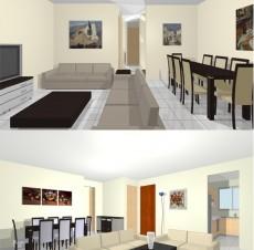 Μελέτη διαμόρφωσης εσωτερικού κατοικίας