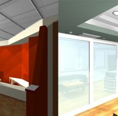 Μελέτη εσωτερικών χώρου γραφείων – Σακελάρης Ι.