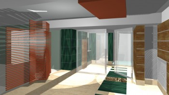 Είδοσος κτιρίου γραφείων (αρχιτ. μελέτη: I.Σακελλάρης).
