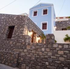 Τουριστικές Κατοικίες στη Σύμη, Στατ. μελέτη: Κ. Μεγαλοοικονόμου