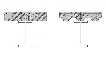 Επιλογή μεταξύ συμπαγούς πλάκας σκυρόδέματος και πλάκας σκυροδέματος με αυλακωτό χαλυβδόφυλλο